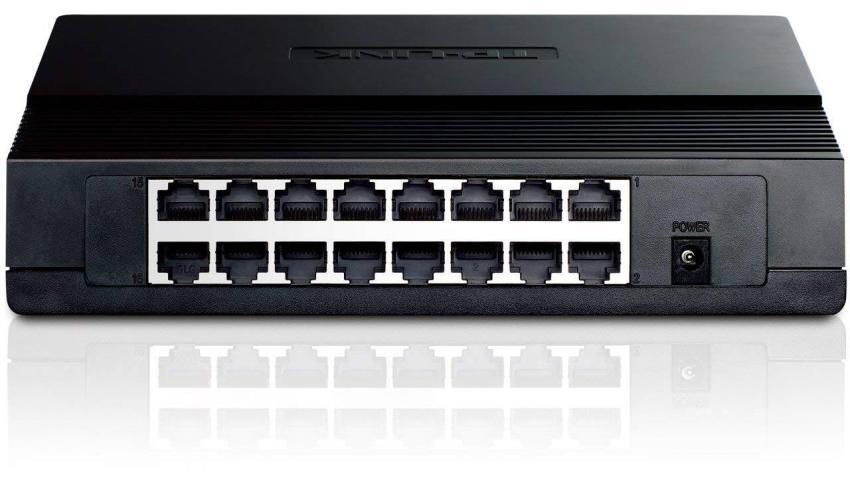 TL-SF1016D 16-Port 10/100Mbps Desktop Switch