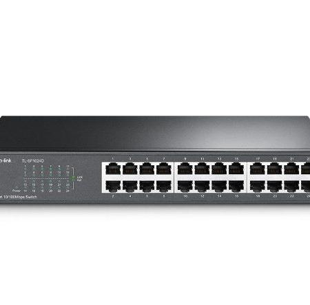 TL-SF1024D 24-port 10/100Mbps Desktop/Rackmount Switch