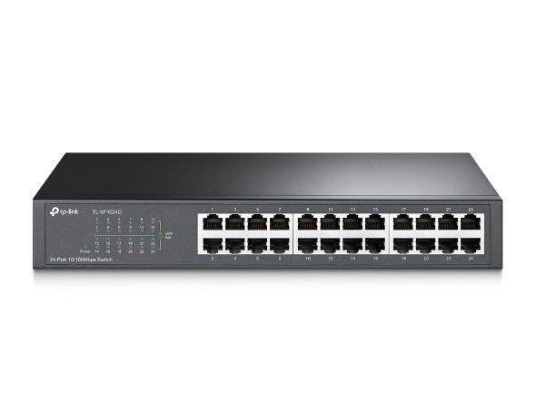 TL-SF1024D 24-port 10/100Mbps Desktop/Rackmount Switch