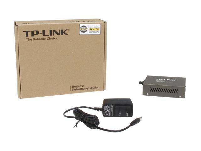 TP-LINK MC210CS (1000Mb/s, single-mode, SC, 15km)