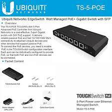Ubiquiti Toughswitch Port POE