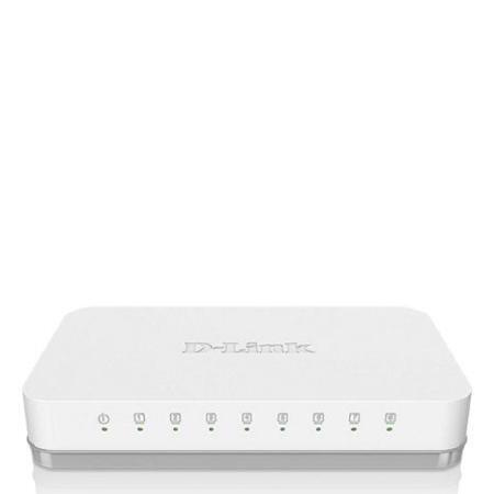 D-Link DGS-1008A 8-Port Gigabit Switch