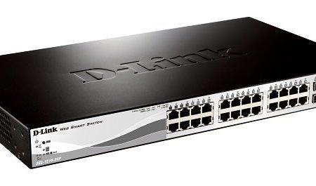 D-Link DGS-1210-28P Websmart Switch