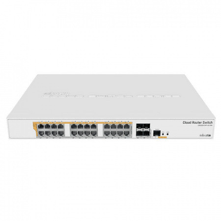 Mikrotik Cloudrouter Switch CRS328-24P-4S+RM